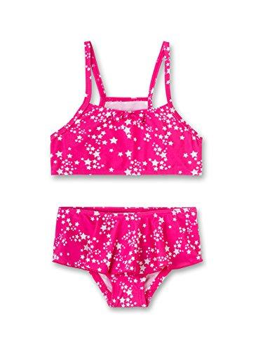 Sanetta Mädchen Bikini Badebekleidungsset, Rosa (Heavy Pink 3875), 104