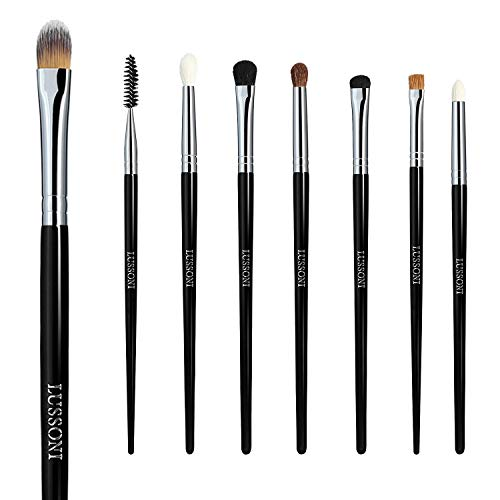 T4B LUSSONI Smokey Eye Set 8 Brochas Maquillaje Profesional