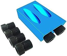 WYBW Houtbewerking Schuine Gat Locator Boren Pocket Gat Jig Kit 15 Graden Hoek Boor Gids Set Hole Puncher DIY Timmerwerk G...