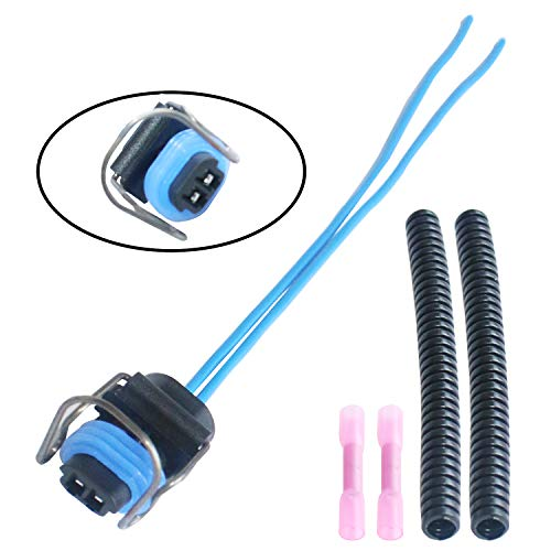 Diesel 2 Wire Injector Connector Pigtail harness FITS Ford 6.0L/6.7L/7.3L Diesel F250 F350 F450 F550 GM 6.6L Pigtail IPR VGT Solenoid