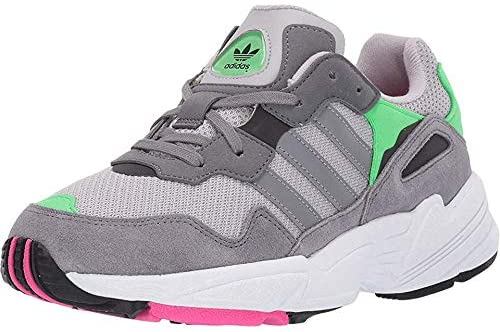 adidas Kids Boys Yung-96 Lace Up Sneakers Shoes Casual - Grey