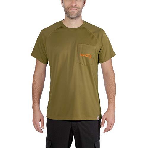 Carhartt Herren T-Shirt Fishing T-Shirt S/S Fir Green-XL