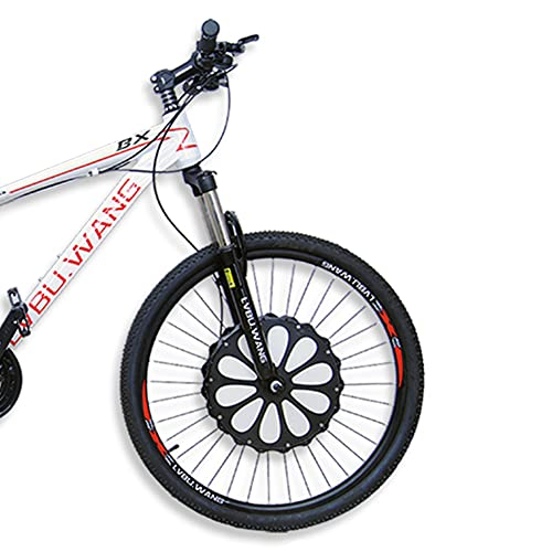 HYYK Vorderrad Ebike Umbausatz Nachrüstsatz E-Bike Conversion Kit Nabe, Fahrradschub, 8.9Ah /Ausdauer 90 Kilometer, Super einfache Installation, 36V,250W