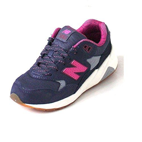 New Balance 580 Grey/pink, Größe:33