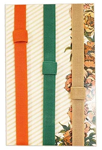 Well Planned Gal Elastic Planner Band and Pen Holder, 3 Pack