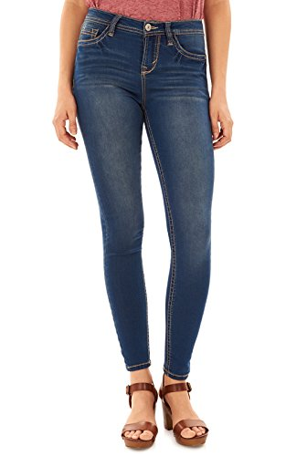 WallFlower Women's Juniors High Rise Irresistible Denim Jegging in Varsity Blue Size: 7