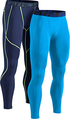 ATHLIO Mens Compression Pants Running Tights Workout Leggings, Cool...