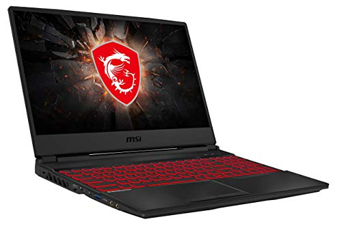 MSI GL65 9SC-055 (39,6 cm/15,6 Zoll/120Hz) Gaming-Laptop (Intel Core i5-9300H, 16 GB RAM, 512 GB PCIe SSD, Nvidia GeForce GTX1650 4GB, Windows 10 Home)