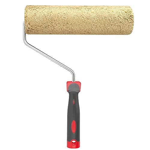 RBMalerbedarf - Allzweck Farbroller| Malerrolle 25cm | Hohe Farbaufnahme | Ideal für Wandfarbe - Spritzfreie Farbwalze - Fusselarm - Ergonomischer Griff