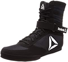 Reebok Boxing Boot-Buck, Zapatillas de Artes Marciales Hombre, Multicolor (Black/White 000), 46 EU