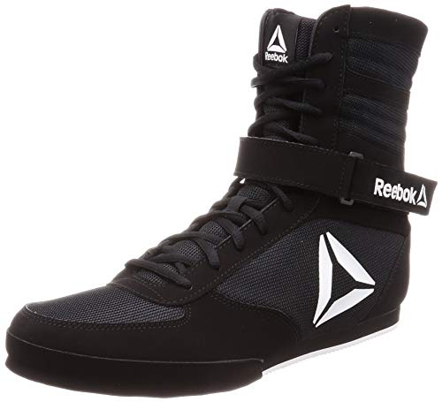 Reebok Boxing Boot-Buck, Zapatillas de Artes Marciales para Hombre, Multicolor (Black/White 000), 40 EU