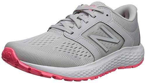 New Balance Women's 520 V5 Running Shoe, Summer Fog/Guava/Team Away Grey, 8.5 M US
