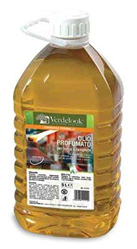 VERDELOOK Olio lampante a Base vegetale profumato per Giardino, 28x18x12 cm