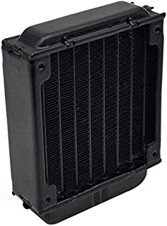 TOOGOO 80Mm Pc Radiador De Enfriamiento De Agua para Ordenador Chip CPU Gpu Vga Ram Refrigerador De Enfriamiento por Láser Aleación De Aluminio Intercambiador De Calor