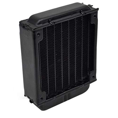 Semoic 80Mm Pc Radiador De Enfriamiento De Agua para Ordenador Chip CPU Gpu Vga Ram Refrigerador De Enfriamiento por Aleación De Aluminio Intercambiador De Calor