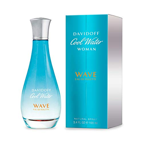 Cool Water Wave By Davidoff For Women. Eau De Toilette Spray 3.4-Ounces