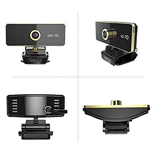 Wdonddonsxt webcam 1080p Webcam ordenador, portátil de escritorio gratuito Drive-HD con micrófono, externa Videoconferencia La orientación familiar red de clase en vivo Webcam USB dedicado Conveniente