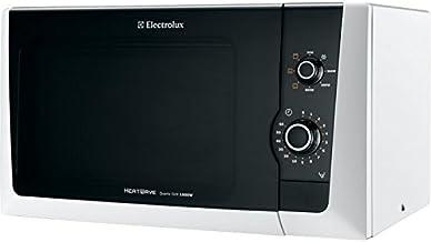 Electrolux EMM21150W Encimera - Microondas (Encimera, Microondas con grill, 18,5 L, 800 W, Giratorio, Blanco)