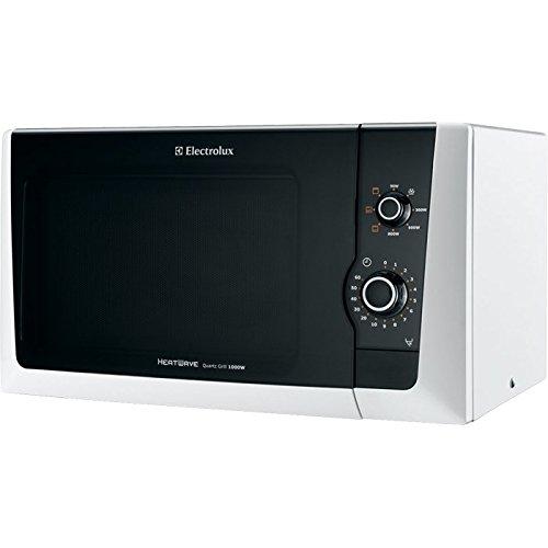 Electrolux EMM21150W Comptoir - Micro-ondes (Comptoir, Micro-ondes grill, 18,5 L, 800 W, Rotatif, Blanc)