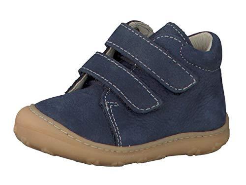 RICOSTA Pepino Unisex - Kinder Stiefel Chrisy, WMS: Mittel, Freizeit leger Boots Klettstiefel Leder Kind-er Kids junior toben,See,23 EU / 6 UK