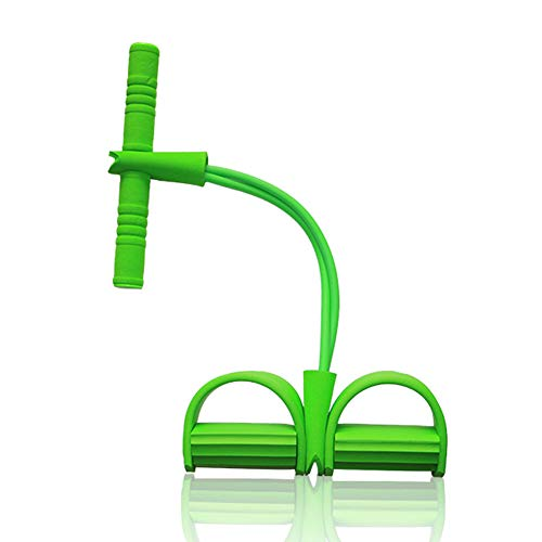Gelentea Fitness Pedaal Oefening Sit-up Oefening Apparatuur Tummy Trainer Trekkoord Multi-Functie Spanning Touw Trekker voor Thuis Gym Taille Arm Yoga