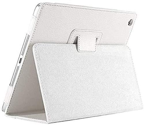 GYY Accesorios De Pestañas para Huawei MediApad M5 Lite 10 10.1'Bah2-W19 / L09 / W09, Stand PU CUBIERTE CUBIERTE Tablet Funda para MediaPAD M5 Lite 10.1 (Color : White)