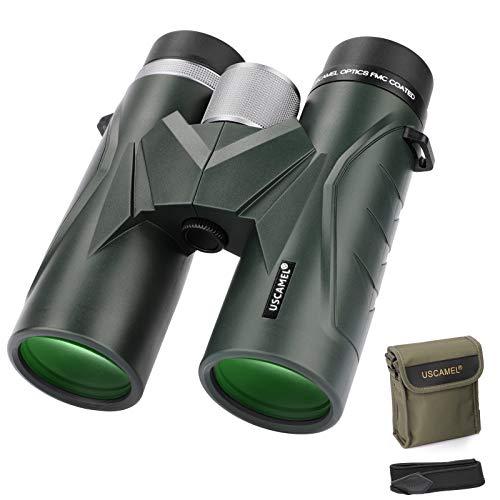 Binoculares 10x42 para Adultos, prismáticos Profesionales HD compactos para observación de Aves, Viajes, observación de Estrellas, Camping, conciertos, visitas turísticas