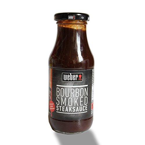 Weber Bourbon Smoked Steaksauce (240ml Glas)