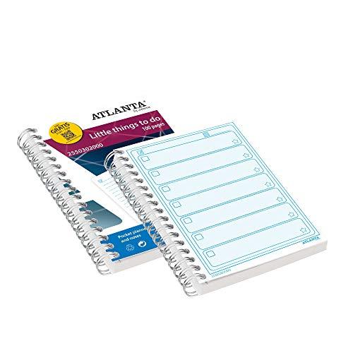 Atlanta Formularbücher mit Scan App, Jalema 2550302000, Little Things To Do-Buch A6, Pack mit 5 Stück, 100 Blatt