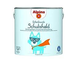 Alpina Farbenfreunde Schutzheld 2,5L cleanable, transparent protective cover