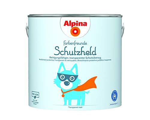 Alpina Farbenfreunde Schutzheld 2,5L reinigungsfähiger, transparenter Schutzüberzug