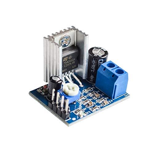 KASILU Dlb0109 Módulo de alimentación del módulo TDA2030 TDA2030 Amplificador de Audio Módulo de Placa TDA2030A 6-12V indiviso Alto Rendimiento