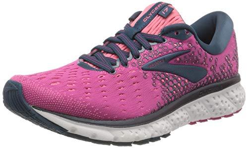 Brooks Damen Glycerin 17 Running Shoe, Rosa (Beetroot/Pink/Blue), 41 EU