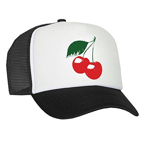 Bastart Caps Raphia Art Mesh Casquette Cherry – Cerise