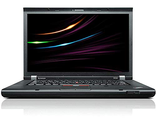 Lenovo ThinkPad W530 | Intel i7 | 4 x 2.6 GHz | 32 GB | 1000 GB | Full HD 1920x1080 | nVidia 2 GB | 15.6 Inch | Web Cam | Windows 10 | GW3 Business Notebook (Certified and refurbished)