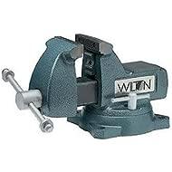 Wilton 21300 744 4-Inch Jaw Width by 4-1/2-Inch Opening Mechanics Vise
