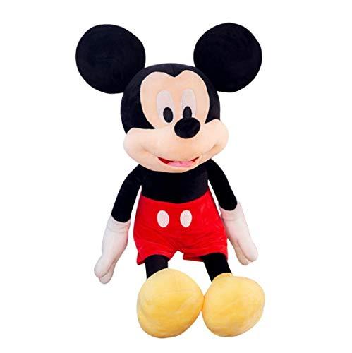 Plüsch Spielzeug Mickey Minnie Puppe Mickey Mouse Geschenk Weihnachtsgeschenk 30/40cm (Schwarz,30cm)