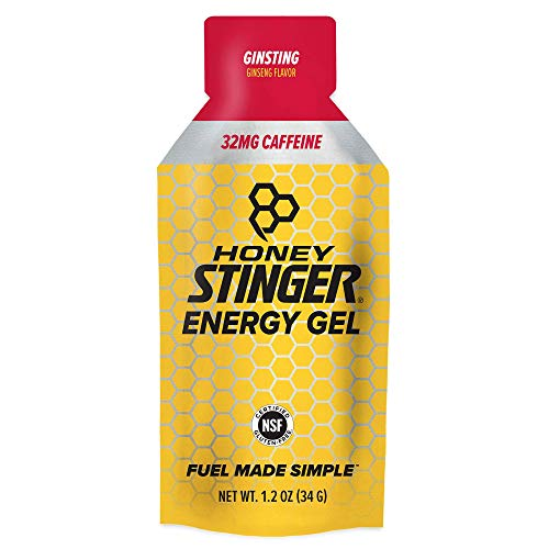 Honey Stinger Classic Energy Gel Ginsting Caffeinated Sports Nutrition 11 Ounce Pack of 24