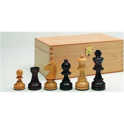 Preisvergleich Produktbild Weible Spiele 01256 - Schachfiguren Staunton-Form,  Königshöhe 95 mm