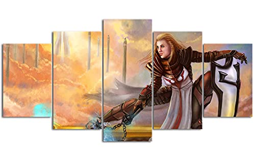 YLAXX Papel Pintado con Estampado de Diablo, póster HD, impresión en Lienzo, Exquisita decoración del hogar, Mural de Pared, 150x80 cm, Pintura sin Marco