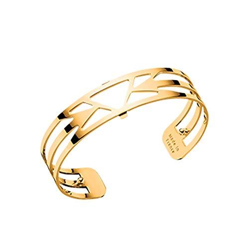 Les Georgettes - Bracelet Femme - Les Essentielles Ibiza - Medium - Couleur : Or - Largeur du bracelet : 14 mm