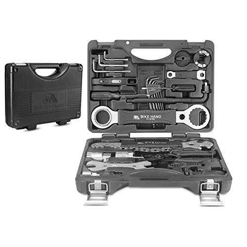 18 Unids Herramientas de reparación de Bicicletas Juego de Herramientas de aleación de Acero Multi MTB Herramientas de reparación de Cadenas de Llantas Kit de Llaves de Rayos Destornillador