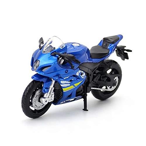 GXJU Juguete Modelo de Motocicleta a Escala 1:18 para GSX-R1000 Scale Diecast Motorcycle Model Super Racing Motorbike Colección Educativa Regalos para Adultos para Niños (Color : 2)
