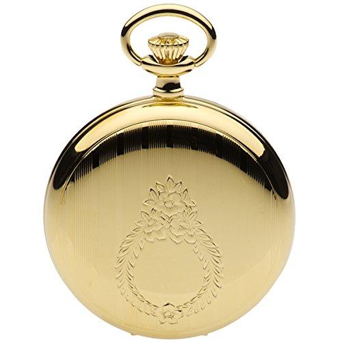Jean Pierre chapado en oro Hunter reloj de bolsillo, cuarzo. La Federación _ g557pq