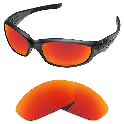 sunglasses restorer sunglasses restorer Ersatzgläser für Oakley Straight Jacket (Polarisierte Ruby Red Linsen)