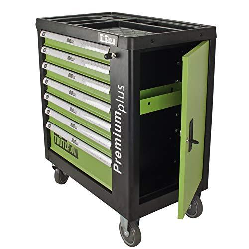 TrutzHolm® Werkstattwagen Premium XXL bestückt Profi-Werkzeug aus Chrom-Vanadium 7 Schubladen und ein Seitenfach gefüllt Assistent Werkzeugwagen - 9