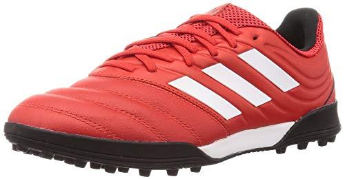 adidas Copa 20.3 Tf, Scarpe da Ginnastica Uomo, Rosso Attivo/Bianco Ftwr/Nero Core, 47 1/3 EU