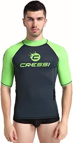 Cressi Hydro Men's Rash Guard Short Sleeves - Camisa de Prot
