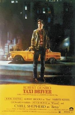Close Up Taxi Driver Poster Yellow Taxi (68,5cm x 101,5cm) + Ü-Poster