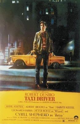 Close Up Poster Taxi Driver Taxi Jaune (68,5cm x 101,5cm)